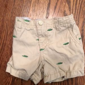 Carter's Bottoms - 4 pairs of Carters baby shorts